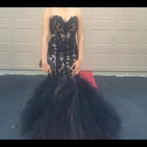 Black Mori Lee prom dress